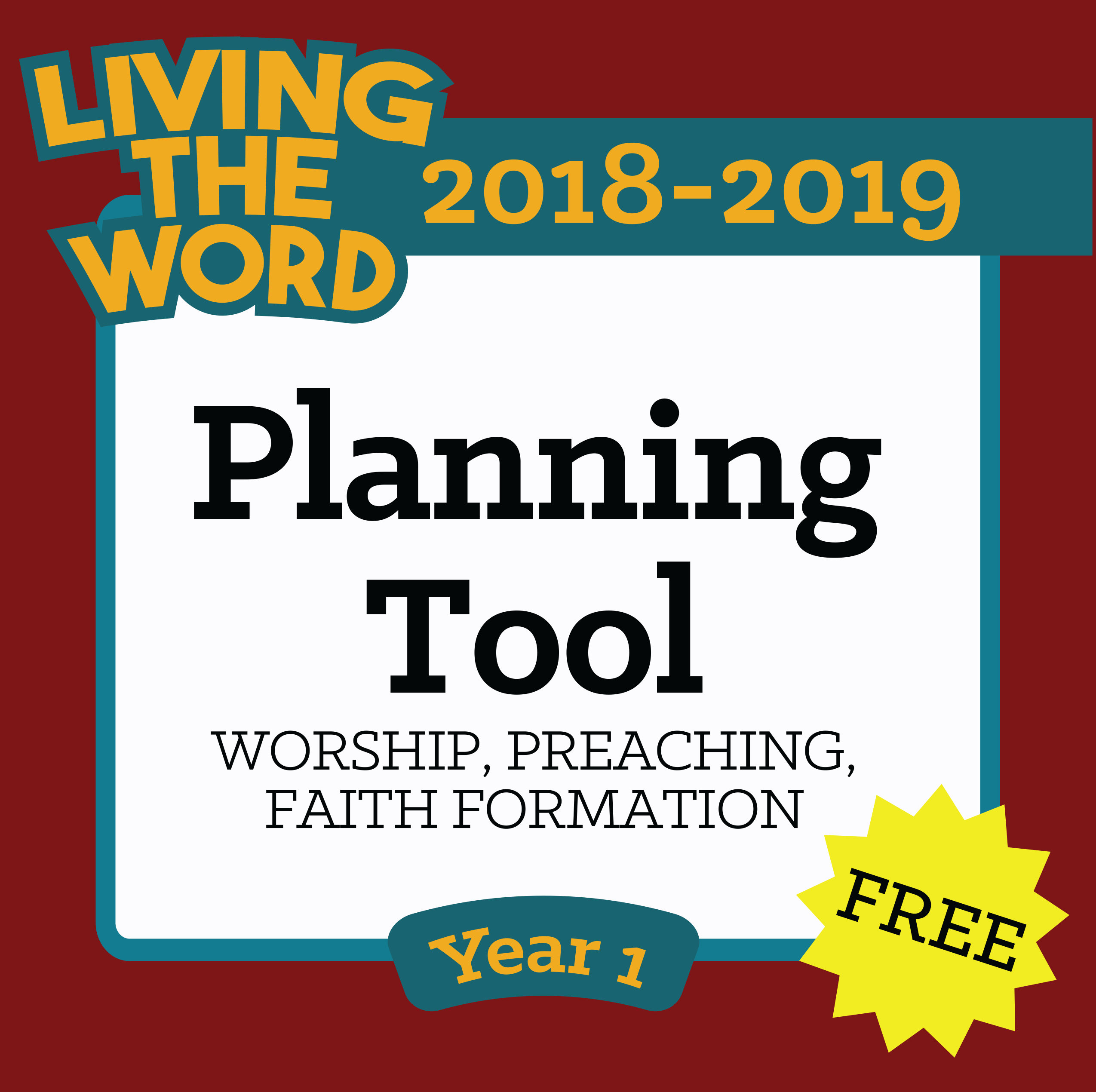 Ltw free planning tool year 1 spirit truth publishing for Planning tool free