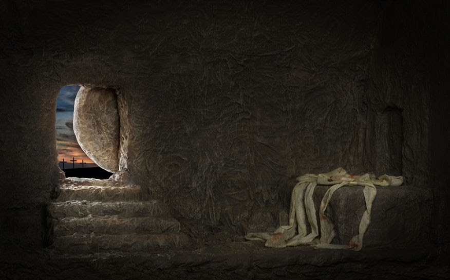 The empty tomb, a story that seems to be utter nonsense.